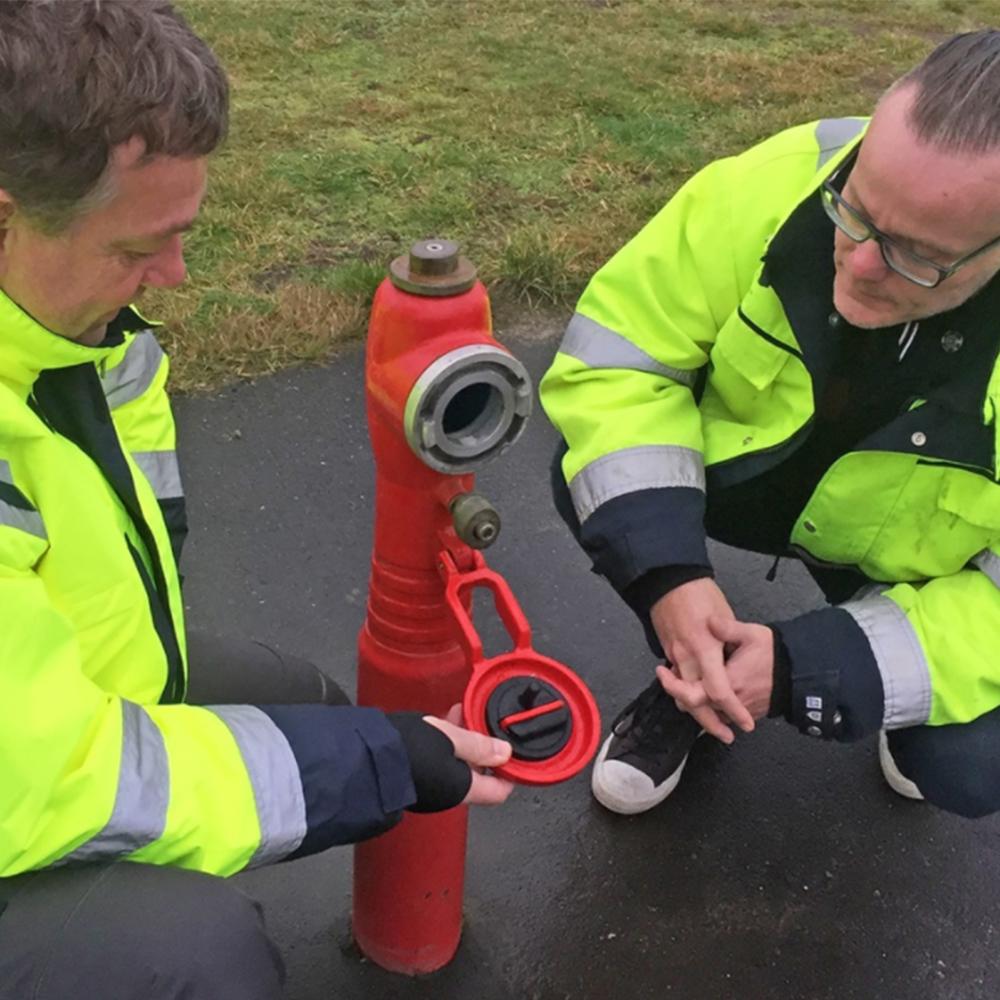Intelligente brannhydranter Skanderborg Forsyning