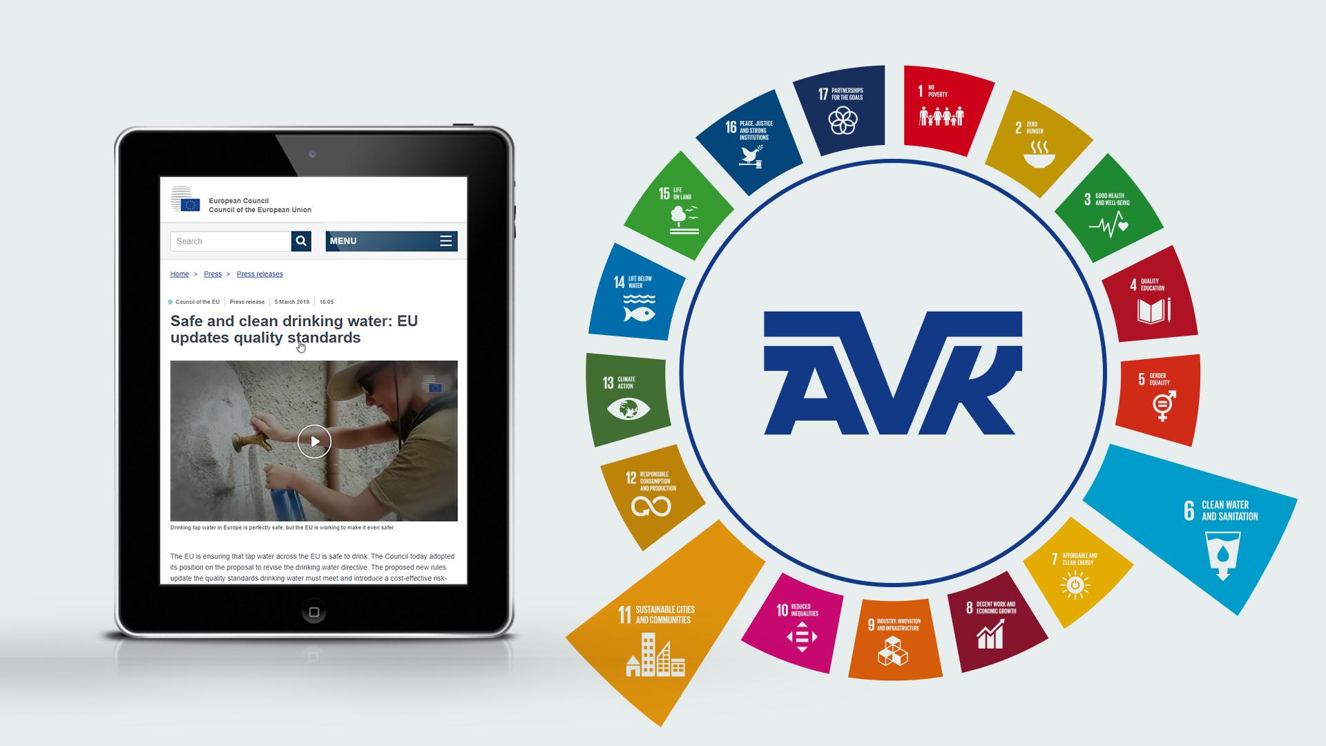 AVK Smart Water internasjonale krav