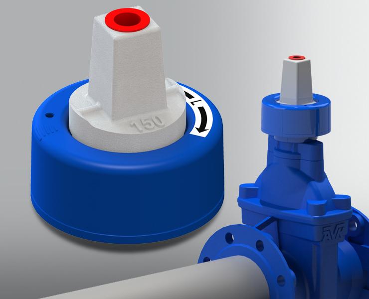 Smart Water Ventilposisjonssensor