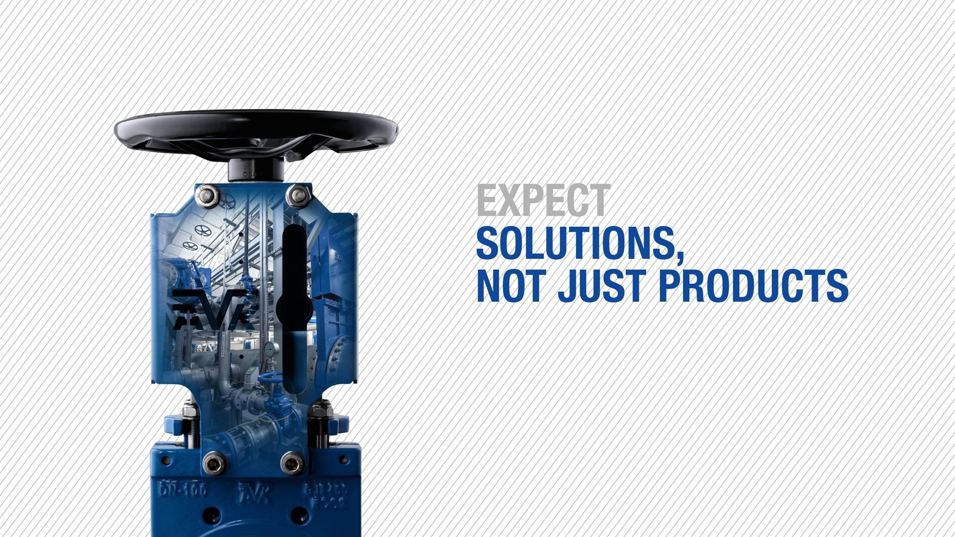 Forvent løsninger, ikke bare produkter