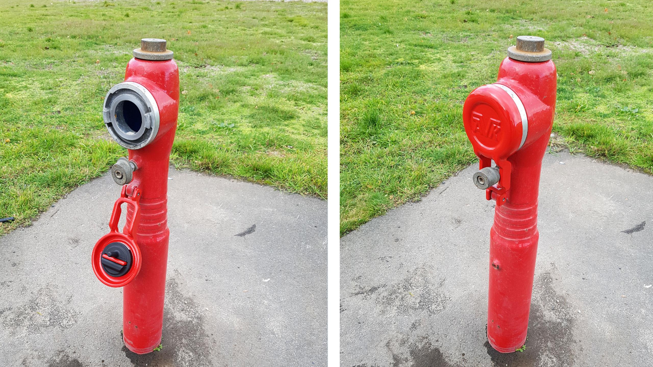 Intelligente brannhydranter