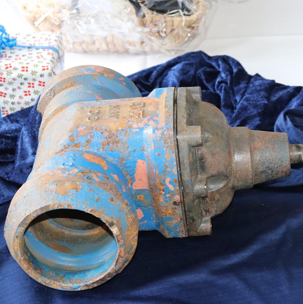 Pensjonert AVK ventil på utstilling